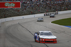 November 3, 2018 - Ft. Worth, Texas, United States of America - Spencer Gallagher (23) battles for position during the O'Reilly Auto Parts Challenge at Texas Motor Speedway in Ft. Worth, Texas. (Credit Image: © Justin R. Noe Asp Inc/ASP via ZUMA Wire)