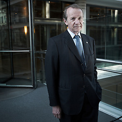 PARIS, FRANCE. NOVEMBER 2011, 14. Michel Pebereau is the current Chairman of BNP Paribas and its former CEO, here in its bank's offices in Paris. Photo: Antoine Doyen