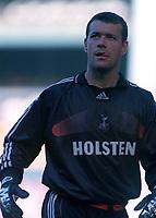 Neil Sullivan (Tottenham Hotspur) Tottenham Hotspur v Manchester City, FA Premiership, 23/09/2000. Credit: Colorsport / Nick Kidd