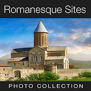 Medieval Romanesque Historical Places & Sites - Pictures & Images of -