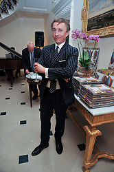 JASPER CONRAN at a party to celebrate the publication of Gosling - Classic Design for Contemporary Interiors by Tim Gosling held at William Kent House, The Ritz Hotel, London on 1st October 2009.