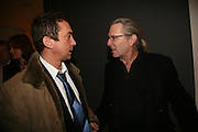 Bruno Tonioli and Wayne Edgeling, Gala performance of Night Of The Snow Queen, English National Ballet. Coliseum, London, WC2,pre performance party at  St Martins Lane Hotel, 45 St Martins Lane, London, WC2N 4HX. 12 December 2007. -DO NOT ARCHIVE-© Copyright Photograph by Dafydd Jones. 248 Clapham Rd. London SW9 0PZ. Tel 0207 820 0771. www.dafjones.com.