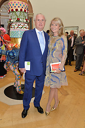 LORD & LADY MYNERS at the annual Royal Academy of Art Summer Party held at Burlington House, Piccadilly, London on 4th June 2014.