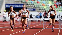 Friidrett , 15. juni 2017 ,  Diamond League , Bislett Games<br /> Sofia Johansson , SWE 400 m h