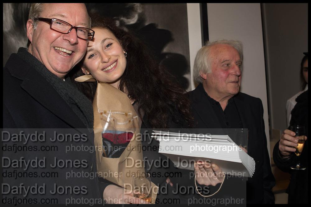 ELEESA DADIANI, MICHAEL SANDL; RA;, Nina Fowler works curated by James Birch, The launch of Dadiani Fine Art, 30 Cork St. London.  24 November 2014