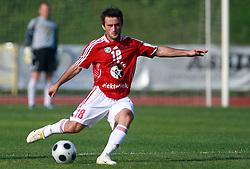 Amer Jukan (18) of Interblock at 7th Round of PrvaLiga Telekom Slovenije between NK Interblock vs NK Nafta Lendava, on September , 2008, in ZAK stadium in Ljubljana, Slovenia. Interblock won the match 3:1. (Photo by Vid Ponikvar / Sportal Images)