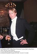 Joe Bamford. 1997  Crillon Haute Debutante Couture Ball. Crillon Hotel, Paris. 29/11/97. Film 97681f5a<br />© Copyright Photograph by Dafydd Jones<br />66 Stockwell Park Rd. London SW9 0DA<br />Tel 0171 733 0108