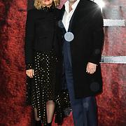 Hugo Weaving and  Katrina Greenwood Arrivers at the Mortal Engines - World Premiere on 27 November 2018, London, UK