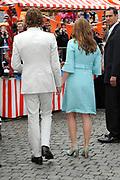 Koninginnedag 2010 . De Koninklijke familie in het zeeuwse  Middelburg. / Queensday 2010. De Royal Family in Middelburg.<br /> <br /> op de foto / on the photo ; Prins Bernhard en Prinses Annette