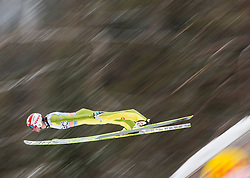 Robert Kranjec of Slovenia soars through the air during the Flying Hill Individual Event at 4th day of FIS Ski Jumping World Cup Finals Planica 2013, on March 24, 2013, in Planica, Slovenia. (Photo by Vid Ponikvar / Sportida.com)