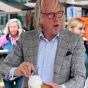 NLD/Amsterdam/20130701 - Keti Koti Ontbijt 2013 op het Leidse Plein, Freek de Jonge