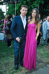 NICK CANDY and YAEL TORN-HIBLER at the annual Serpentine Gallery Summer Party sponsored by Canvas TV  the new global arts TV network, held at the Serpentine Gallery, Kensington Gardens, London on 9th July 2009.