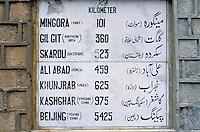 Pakistan. Khyber Pakhtunkhwa, Karakoram Highway (KKH). // Pakistan. Khyber Pakhtunkhwa, Route du Karakoram (KKH)
