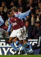 Fotball<br /> Premier League England 2004/2005<br /> Foto: BPI/Digitalsport<br /> NORWAY ONLY<br /> <br /> 22.11.2004<br /> <br /> Aston Villa v Tottenham Hotspur<br /> FA Barclays Premiership, Villa Park<br /> <br /> Nolberto Solano celebrates his opening goal