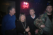 Bob Gruen, Hillary alexander and Glen Matlock, Future Punk Launch party at Selfridges, Oxford St. : 9th March. ONE TIME USE ONLY - DO NOT ARCHIVE  © Copyright Photograph by Dafydd Jones 66 Stockwell Park Rd. London SW9 0DA Tel 020 7733 0108 www.dafjones.com