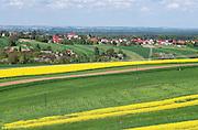 10.05.2016. Małopolska, wiosenny pejzaż. Okolice Bochni
