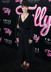 LOS ANGELES, CA, USA - APRIL 18: Los Angeles Premiere Of Focus Features' 'Tully' held at Regal Cinema L.A. Live Stadium 14 on April 18, 2018 in Los Angeles, California, United States. 18 Apr 2018 Pictured: Diablo Cody. Photo credit: Xavier Collin/Image Press Agency / MEGA TheMegaAgency.com +1 888 505 6342