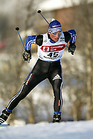 Langrenn, 22. november 2003, verdenscup Beitostølen, Reto Burgermeister, Sveits (SUI