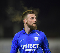 Preston North End's Declan Rudd during the pre-match warm-up <br /> <br /> Photographer Chris Vaughan/CameraSport<br /> <br /> The EFL Sky Bet Championship - Barnsley v Preston North End - Tuesday 21st January 2020 - Oakwell - Barnsley<br /> <br /> World Copyright © 2020 CameraSport. All rights reserved. 43 Linden Ave. Countesthorpe. Leicester. England. LE8 5PG - Tel: +44 (0) 116 277 4147 - admin@camerasport.com - www.camerasport.com