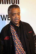 Rev. Al Sharpton at the Common Celebration Capsule Line Launch with Softwear by Microsoft at Skylight Studios on December 3, 2008 in New York City..Microsoft celebrates the launch of a limited-edition capsule collection of SOFTWEAR by Microsoft graphic tees designed by Common. The t-shirt  designs. inspired by the 1980's when both Microsoft and and Hip Hop really came of age, include iconography that depicts shared principles of the technology company and the Hip Hop Star