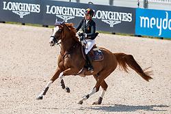 Cordon Pilar, ESP, Grand Cru vd Rozenberg<br /> World Equestrian Games - Tryon 2018<br /> © Hippo Foto - Dirk Caremans<br /> 20/09/2018