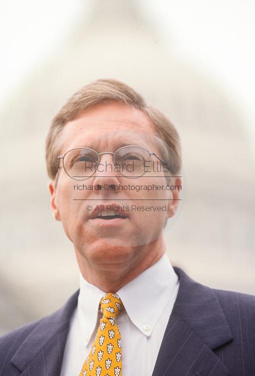 U.S. Congressmen Rep. Jim Turner a Congressional Blue Dog Democrat during a press conference July 17, 1998 in Washington, DC.