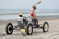 At the starting line at TROG (The Race Of Gentlemen) in Wildwood, NJ. USA. Saturday June 9, 2018. Photography ©2018 Michael Lichter.