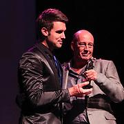 NLD/Amsterdam/20130211- Uitreiking Edison Pop 2013, Nick Schilder en Daniel Dekker