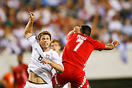 July 18 2009: Logan Pause of USA during the game between USA and Panama. The United States defeated Panama 2-1 in added extra time in a CONCACAF Gold Cup quarter-final match at Lincoln Financial Field in Philadelphia, Pennsylvania.