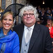 NLD/Den Haag/20130917 -  Prinsjesdag 2013, Ton Elias en partner