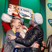 NLD/Hilversum/20121207 - Skyradio Christmas Tree, Anita Witzier en Anouk Smulders - Voorveld