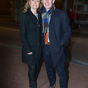 NLD/Amsterdam//20140325 - Schaatsgala 2013, Jochem Uytdehaage en partner Danielle Mouissie