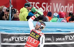 05.03.2017, Podkoren, Kranjska Gora, SLO, FIS Weltcup Ski Alpin, Kranjska Gora, Slalom, Herren, 2. Lauf, im Bild Marcel Hirscher (AUT) // Marcel Hirscher of Austria reacts after his 2nd run of men's Slalom of FIS ski alpine world cup at the Podkoren in Kranjska Gora, Slovenia on 2017/03/05. EXPA Pictures © 2017, PhotoCredit: EXPA/ Johann Groder