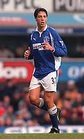 Idan Tal - Everton. Arsenal 0:0 Derby County, F.A.Carling Premiership, 11/11/2000. Credit / Colorsport / Stuart MacFarlane.
