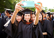 2013 Commencement exercises in Wallace Wade stadium<br /> <br /> Melinda Gates is speaker