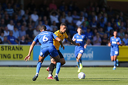 Jonson Clarke-Harris of Bristol Rovers runs at Terell Thomas of AFC Wimbledon - Mandatory by-line: Arron Gent/JMP - 21/09/2019 - FOOTBALL - Cherry Red Records Stadium - Kingston upon Thames, England - AFC Wimbledon v Bristol Rovers - Sky Bet League One