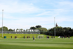 A general view of the City Football Academy as Manchester City players train - Mandatory by-line: Matt McNulty/JMP - 23/08/2016 - FOOTBALL - Manchester City - Training session ahead of Champions League qualifier against Steaua Bucharest
