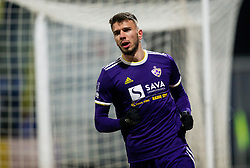 Jan Mlakar of NK Maribor after he scored first goal for Maribor during football match between NK Domzale and NK Maribior in 18th Round of Prva liga Telekom Slovenije 2018/19, on November 11, 2018 in Sportni Park, Domzale, Slovenia. Photo by Vid Ponikvar / Sportida