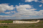 Concrete Separation wall between Israel and Palestine in the west bank
