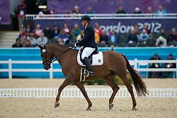 Näpel Britta (GER) - Aquilina 3<br /> Individual Championship Test  - Grade II  <br /> London 2012 Paralympic Games<br /> © Hippo Foto - Jon Stroud