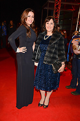 Left to right, ALANA PHILLIPS and her mother ARLENE PHILLIPS at the Collars & Coats Gala Ball in aid of Battersea Dogs & Cats Home held at Battersea Evolution, Battersea Park, London on 7th November 2013.