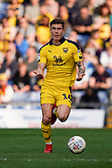 Josh Ruffels of Oxford United beckons his team mates to come to him during the EFL Sky Bet League 1 match between Oxford United and Wycombe Wanderers at the Kassam Stadium, Oxford, England on 30 March 2019.