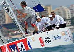 Bruni v Richard, the semi finals. Photo:Chris Davies/WMRT