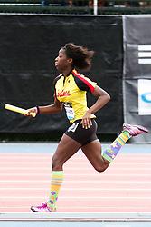 Samsung Diamond League adidas Grand Prix track & field; 4x400 meter relay youth girls, Zodiacs