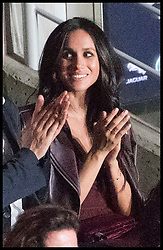 September 24, 2017 - Toronto, Canada - Image licensed to i-Images Picture Agency. 23/09/2017. Toronto, Canada. Meghan Markle in the crowd at the opening ceremony of  the Invictus Games in Toronto, Canada. Picture by POOL  / i-Images UK OUT FOR 28 DAYS (Credit Image: © Pool/i-Images via ZUMA Press)