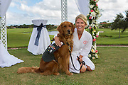 Man's best friend indeed: Touching moment wounded veteran's loyal service dog stands as BEST MAN at his wedding<br /> <br /> When it came time for US Army veteran Justin Lansford to choose a best man for his wedding, there was only one possible candidate - his best friend Gabe.<br /> And for Lansford, it made no difference that his designated best man was not a man at all but a therapy dog.<br /> On Saturday, Lansford, 26, married his long-time girlfriend, 25-year-old Carol Balmes, in Largo, Florida, with the couple's beloved golden retriever standing at the head of the bridal party consisting of three groomsmen and three bridesmaids.<br /> <br /> <br /> Lansford and Gabe have been together since 2013, not long after he lost his left leg in an IED explosion while serving as a paratrooper in eastern Afghanistan<br /> <br /> While he was recovering from his injuries and battling infections at Walter Reed Medical Center in Maryland, Lansford was introduced to then 2-year-old Gabe, a recent graduate of the Warrior Canine Connection program, which trains therapy dogs for wounded veterans dealing with post-traumatic stress disorder.<br /> Lansford and Gabe hit it off right away and have been inseparable ever since.<br /> Gabe helps Justin around the house with an array of everyday tasks, including opening and closing doors, picking up objects, fetching drinks from the fridge and steadying him as he stands.<br /> But Gabe's responsibilities do not end there.<br /> 'The emotional help he gives me is just as much as the physical help,'<br /> <br /> When the Army vet decided to propose to his high school sweetheart Carol on Veteran's Day last year, he did so with the help of his four-legged wingman, who swooped in at just the right moment carrying a ring box in his mouth and a GoPro camera on his collar to capture the special moment.<br /> Eleven months later, Lansford and Gabe stood side by side and watched a beaming Ms Balmes walk down the aisle decorated with bright pink b