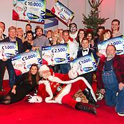 NLD/Hilversum/20151207- Sky Radio's Christmas Tree for Charity, Alle deelnemers