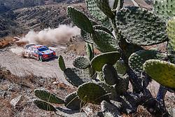 March 9, 2019 - Mexico - Spanish driver DANI SORDO in action during the World Rally Championship Rally Guanajuato Corona Mexico. (Credit Image: © Panoramic via ZUMA Press)