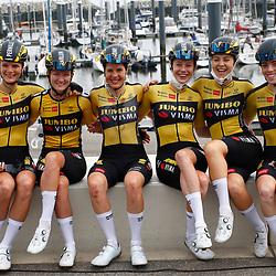 KNOKKE HEIST (BEL) July 10 CYCLING: 2nd Stage Baloise Belgium tour: Team Jumbo-Visma
