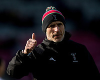 Harlequins' Head Coach Paul Gustard<br /> <br /> Photographer Bob Bradford/CameraSport<br /> <br /> Gallagher Premiership - Harlequins v Exeter Chiefs - Saturday 29th February 2020 - Twickenham Stoop - London<br /> <br /> World Copyright © 2020 CameraSport. All rights reserved. 43 Linden Ave. Countesthorpe. Leicester. England. LE8 5PG - Tel: +44 (0) 116 277 4147 - admin@camerasport.com - www.camerasport.com